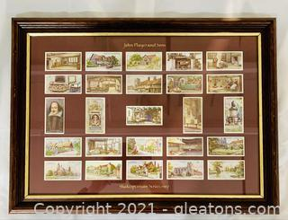 Collectors Shakespearean Series 1917 Players Cigarette Cards