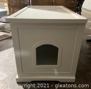Decorative Litter Box Cover and Storage