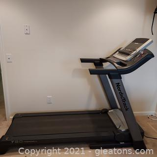 Nordic Traok T8.0 Tread Mill (Buyer Will Need to Bring Help to Move it)