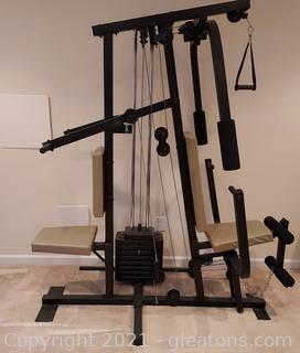 Weider Pro 9725 Home Gym System (Buyer Must Disassemble !)