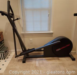 Pro-From Low Impact Elliptical Exerciser (Bring Someone with You to Help You Move It)