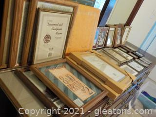 2 Vintage Scrapbooks and a Frame For Your Every Need