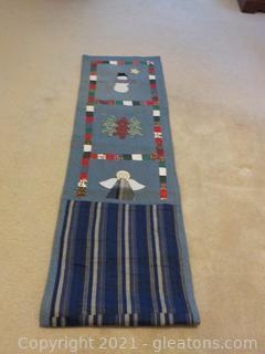 Handmade Christmas Table Runner