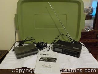 Pair of Weather Alert Radios