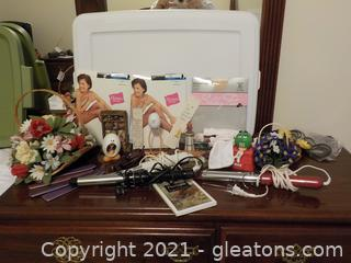 Nice Ladies Lot Featuring 2 Curling Irons