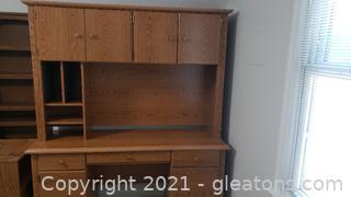 Sturdy Wood Desk