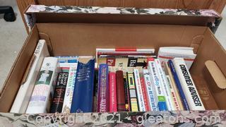 Box #2: Box of Books- Family Planning Health, Religious Studies, Retirement