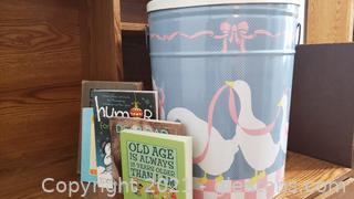 Tin of Books -Kids, Romance, Self Help
