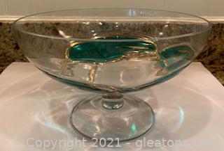 Mouthblown Pedestal Dish