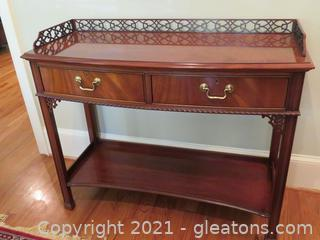 Gorgeous Hickory Chair Buffet Table