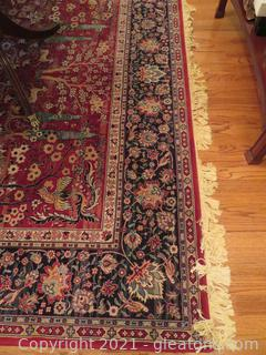Gorgeous Red and Blue Rug