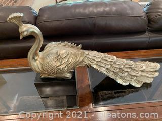 Pretty Peacock Decor