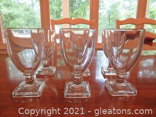Lovely Everyday Water Goblets (6)