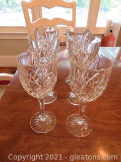 Six Wine Goblets