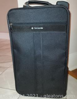 Samsonite Carry on Bag Pull Behind