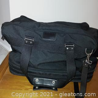 Duffel Style Rolling Suitcase