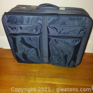 Large Capacity Atlantic Suitcase on Wheels