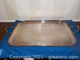 Top Notch Vintage Mappin and Webb's Prince's Plate Tray (Silver Plate)