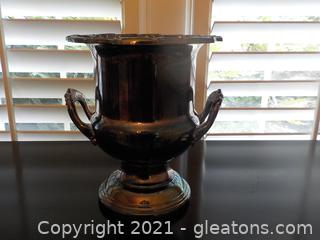 Lovely Silverplate Champagne Chiller by Leonard