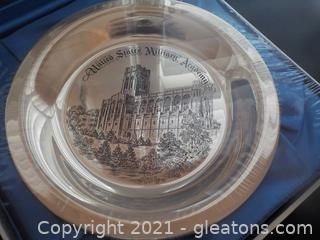 Official U.S. Military Academy Sterling Silver Commemorative Plate
