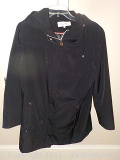 Ladies Calvin Klein Lined Hip Length Jacket with Some Wind/Rain Protection
