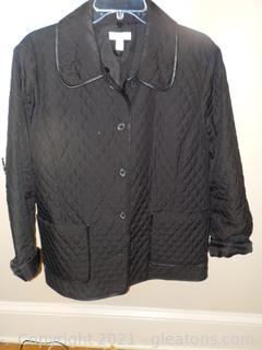Ladies Quilted/Polyester Cost Sz.12, By Charter Club