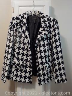 Stylish Ladies Fringed Waist Length Jacket by Investments