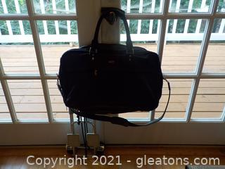 Roomy Shoulder Bag and Portable Roller (Men's)