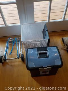 Storage Items and Portable Roller