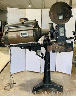 Authentic Vintage Simplex Projector From Strong Utility Co. CIRCA 1930's