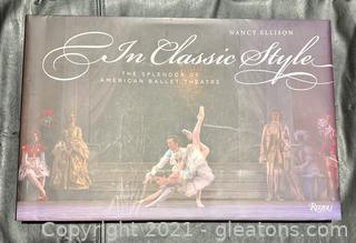 The Splendor American Ballet Theatre Delux Book