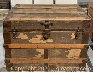Steamer Travel Treasure Trunk