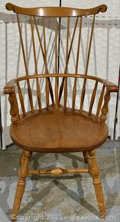 Large Windsor Arm Spindle Back Dining Chair