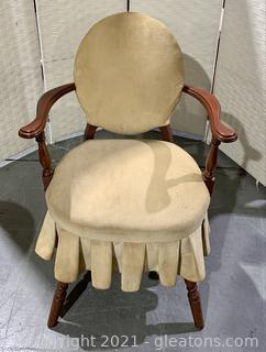 Antique Parlor Arm Chair
