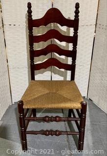 Cherry Ladder Back Dining Chair