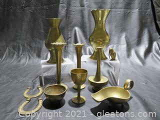 Various Fun Brass Items