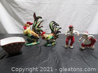 Roosters and Souvenirs