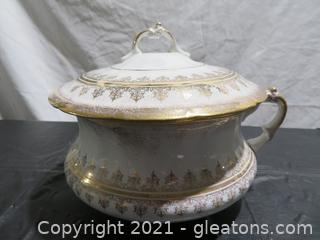 Homer Laughlin Chamber Pot With Lid