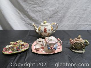 Miniature Teapots