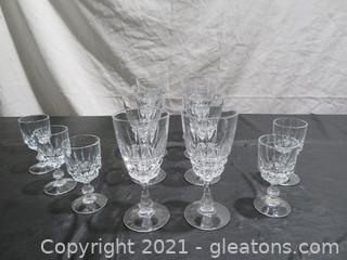 Handcut Crystal Goblets