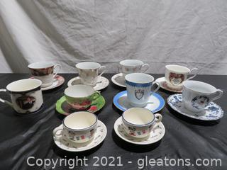 Fabulous Collection of Teacups