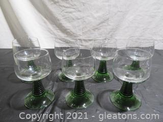 Vintage Weinromer Wine Goblets