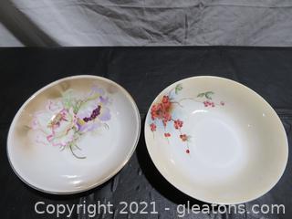 Two German Serving Bowls
