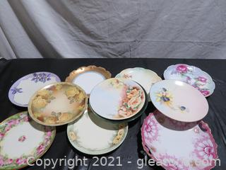 Lovely Assortment of Hand Painted Plates