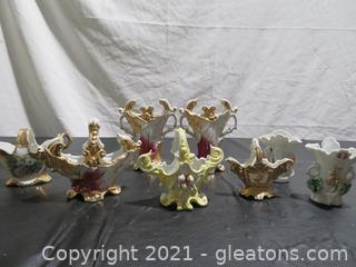 Antique Porcelain Vases (8)
