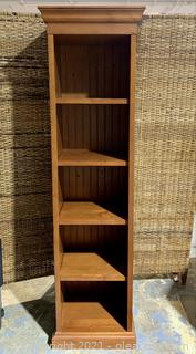 Shaker Pine 5 Shelf Bookcase