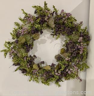 Summer Time Vine Wreath