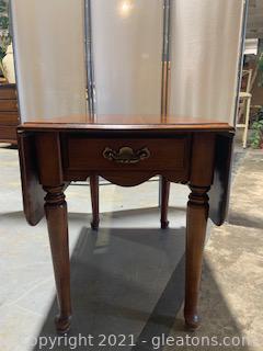 Wooden Drop Leaf Table I