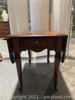 Wooden Drop Leaf Table II