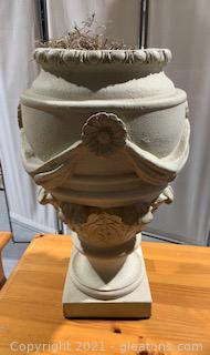 Milano Design Decorative Swag Urn